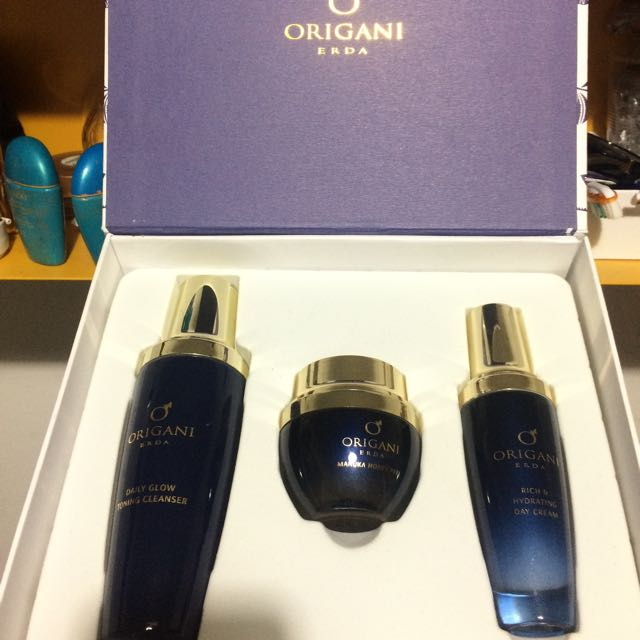3 ITEMS - ORIGANI Luxury Facial Collection