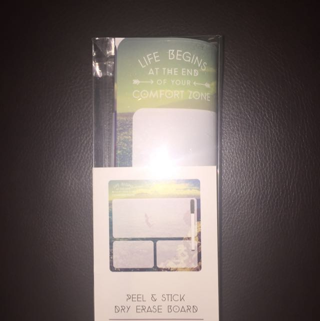 Peel & Stick Dry Erase Board From Chapters