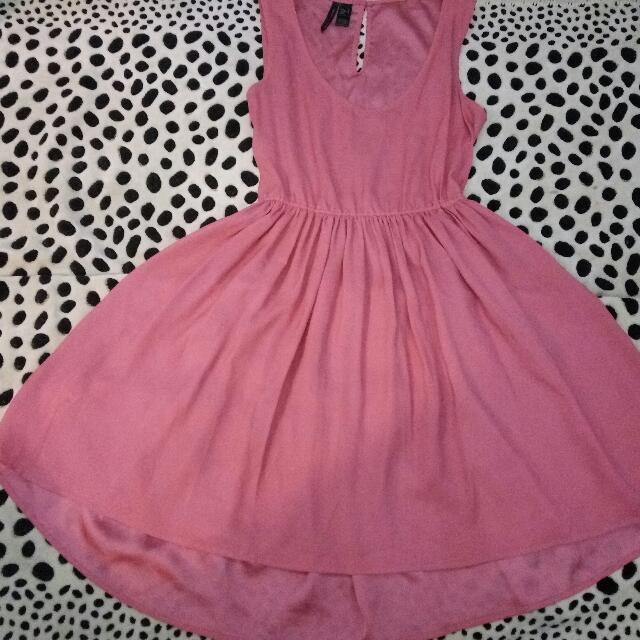 SALE! Pink Dress By Mango