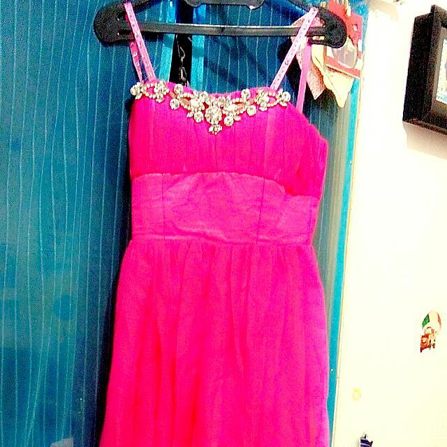 Reprice!!!! Pink Gaun ( Gown ) / Long Dress