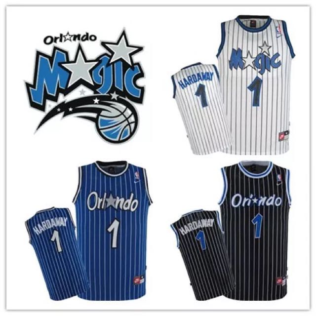 pretty nice 0f39b 37244 PO] NBA Retro Orlando Magic Penny Hardaway Jerseys, Sports ...