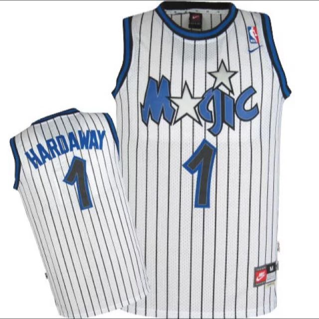 pretty nice 99133 744fa PO] NBA Retro Orlando Magic Penny Hardaway Jerseys, Sports ...
