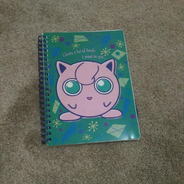 Pokemon Note Book