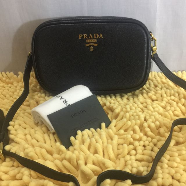 Prada Leather Sling Bag