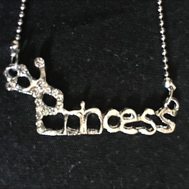 PRINCESS Silver Necklace