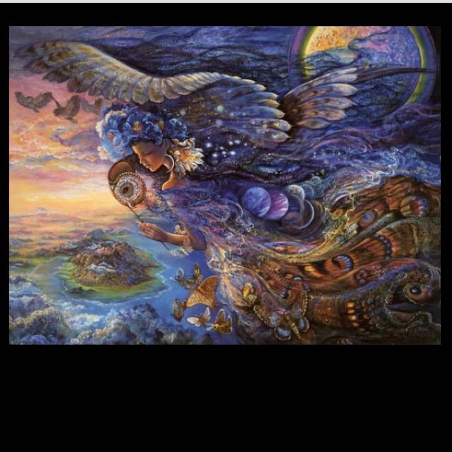 'Queen Of The Night' By Josephine Wall