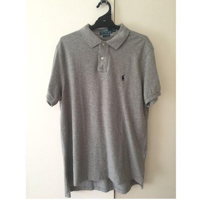 Ralph Lauren Grey Polo (Large)