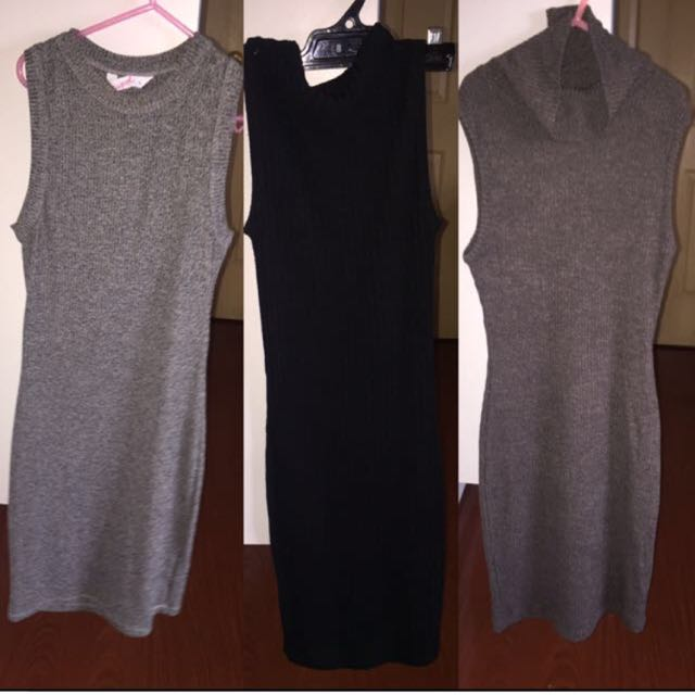 Ribbed bodycon dresses