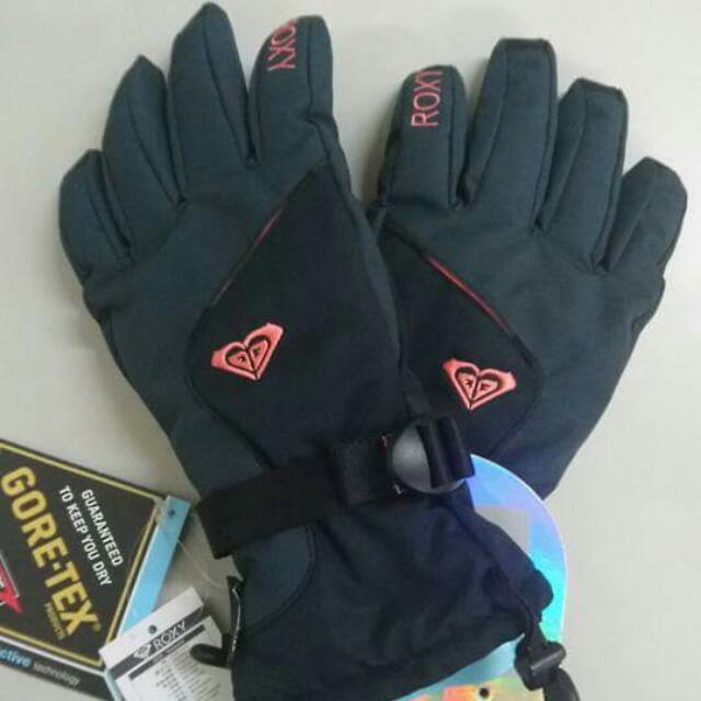 Roxy Goretex 防水 保暖 滑雪手套