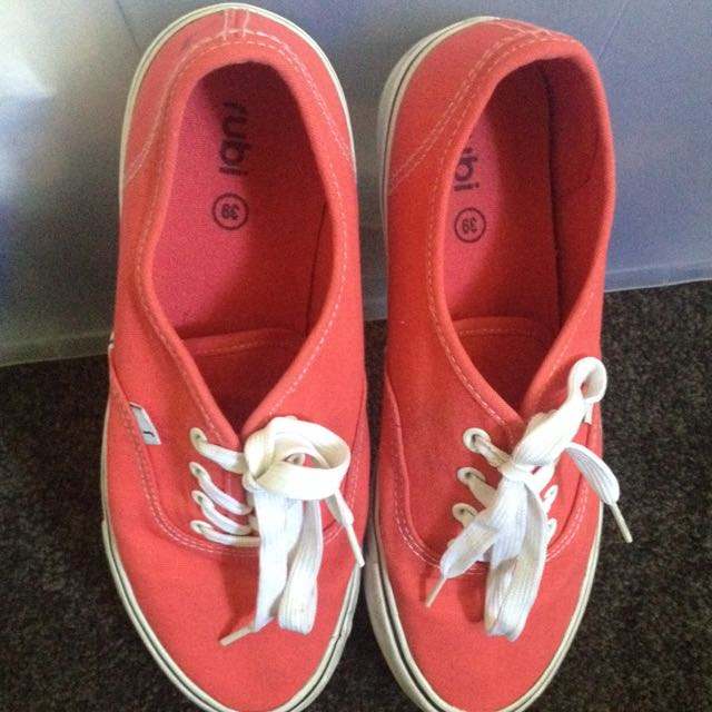 Rubi Red Rubber Shoes Size39 Au
