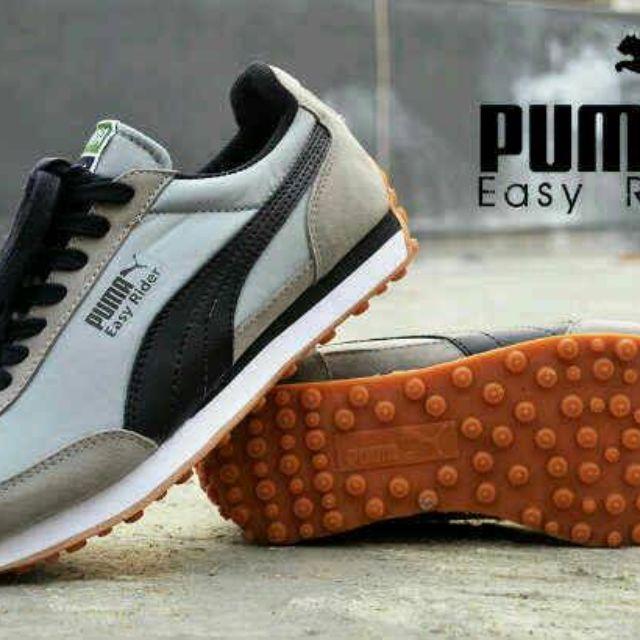 Sepatu casual pria puma easy rider 4a13214183