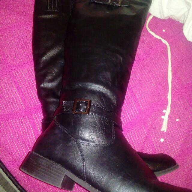 Size 10 Knee High Boots