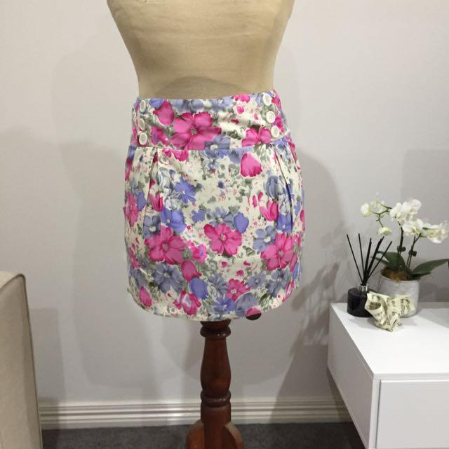 Sugarbabe Floral Mini skirt