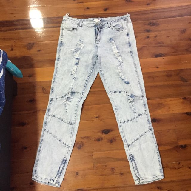Supre Ripped Jeans Size XL