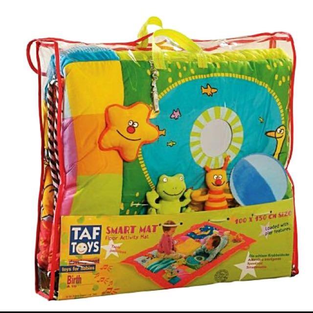 Taf Toys Baby Smart Activity Play Mat 150 X 100 cm