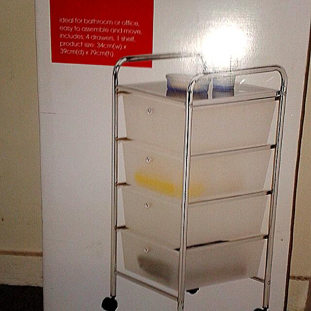 Tiered Storage Trolley