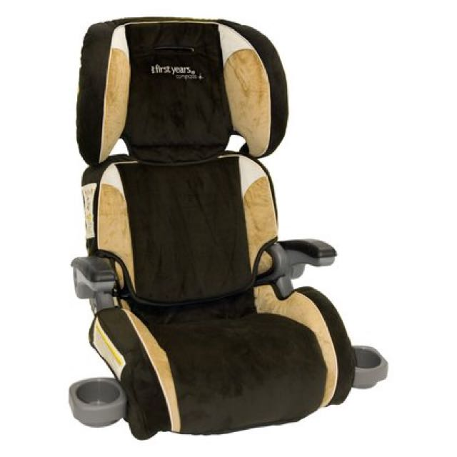 Ultra User Friendly Folding Booster Car Seat On Carousell
