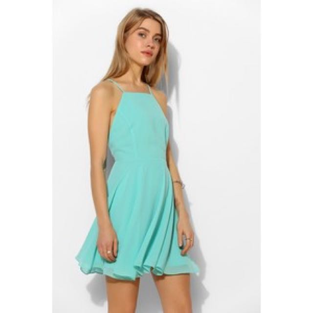 Urban Outfitters - Silence & Noise High neck Apron Dress