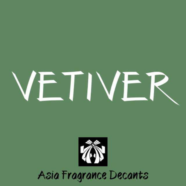 Vetiver based Fragrance