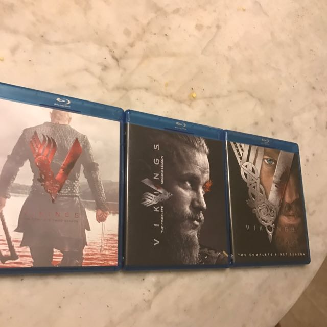 Vikings Seasons 1-3 Blu-ray