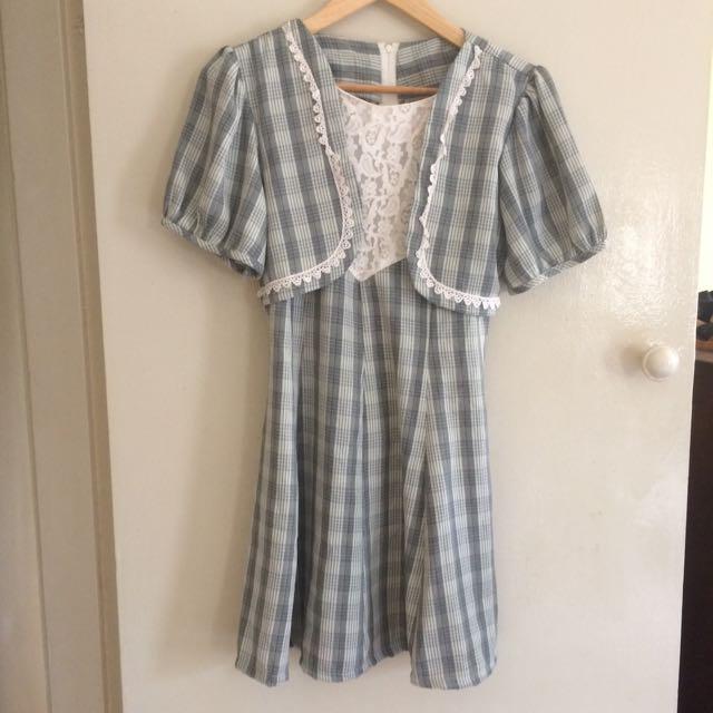 Vintage Dress AU Size 8-10