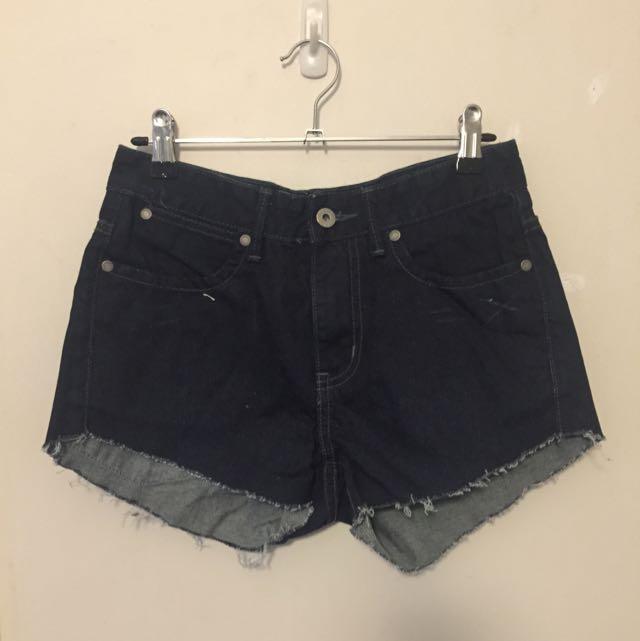 Vintage Women's Mid Waist Shorts