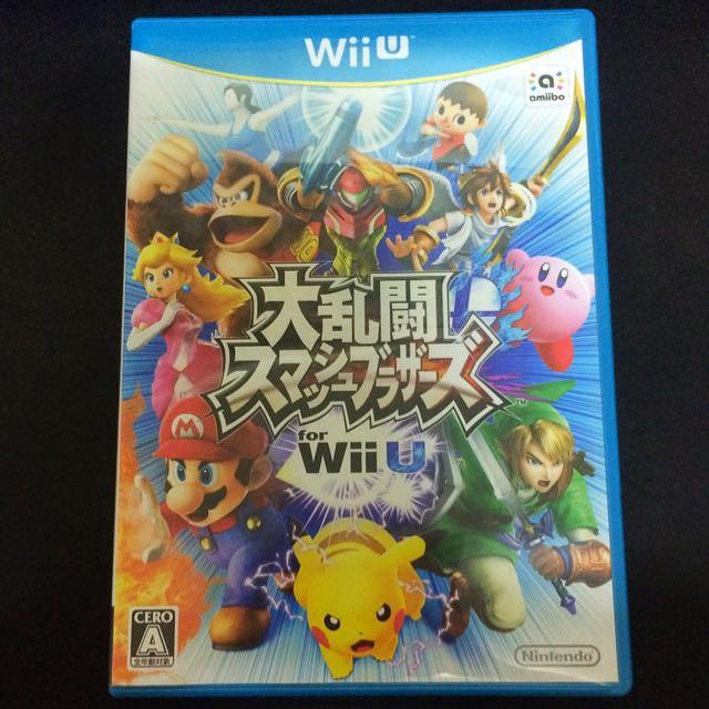 WiiU 任天堂明星大亂鬥