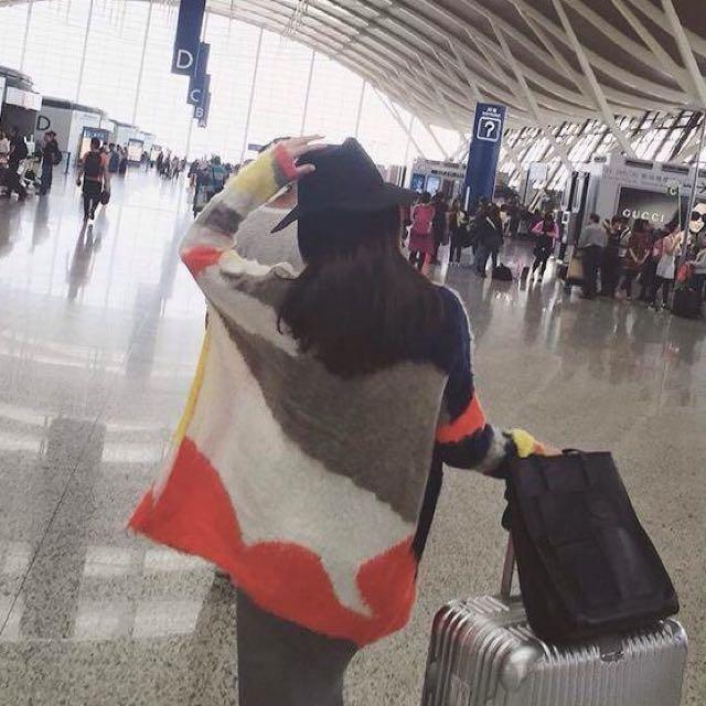 香港帶回Zara同款 韓版英倫復古毛呢帽 大帽沿爵士紳士帽