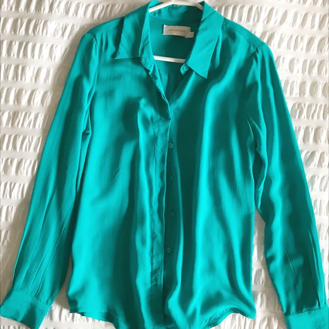 Zimmermann Silk Shirt Size 0