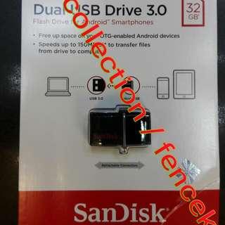 FlashDisk Sandisk USB 3.0 OTG 32GB
