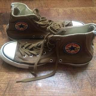懷舊感帆布鞋售出
