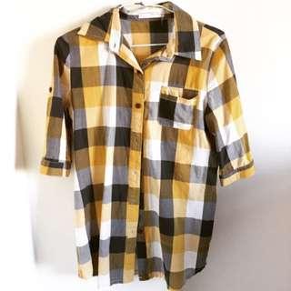 格紋襯衫✨