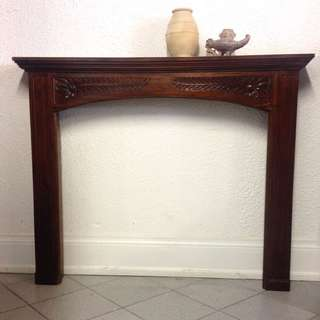 French Style beautiful Solid Wooden Fire Surround on SALE!!! ONLY $300.00!!!