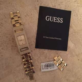 Authentic Gold Guess Watch