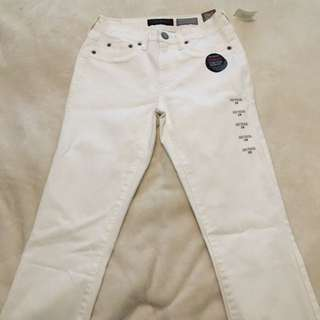 Aeropostale White High waisted Skinny Jeans