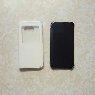 2x Genuine Samsung S6 Cases