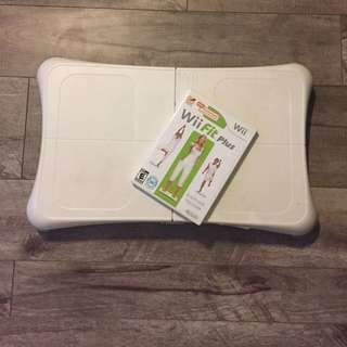 Wii Fit Board & Game
