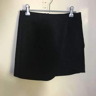 Bardot Sparkly Mini Skirt Size 8