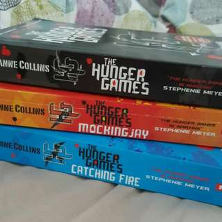 Hunger Games 1-3