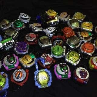 Kamen Rider Gaim Lock Seeds