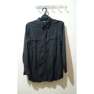 Monki Black Shirt