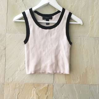 Forever 21 Cropped Sleeveless Top