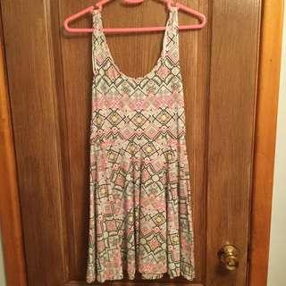 Aztec Design Dress