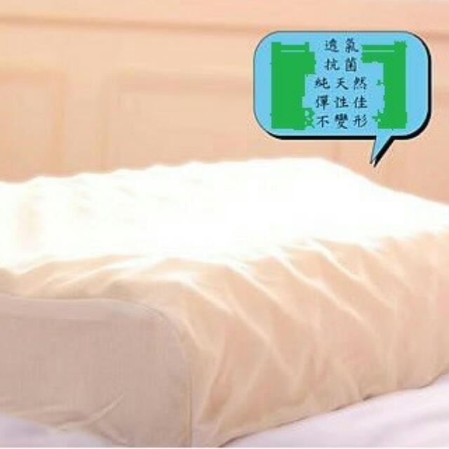 100%天然純乳膠枕 (特大號)