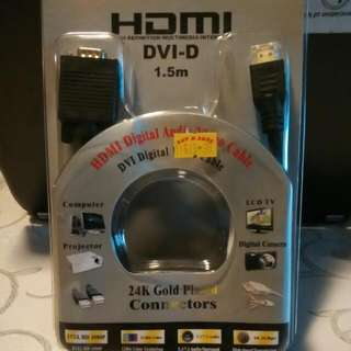HDMI To VGA Cable (Reserved)