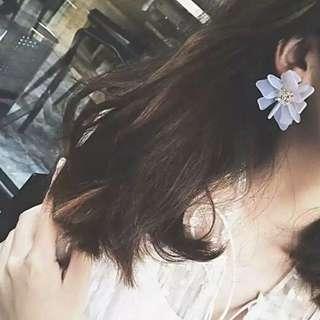 Fashion Flowers Shape Earrings