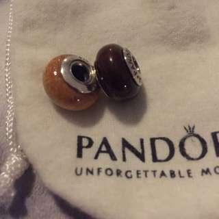 Pandora Wood Beads