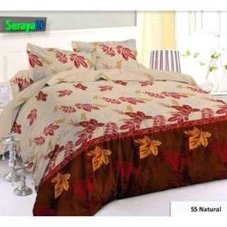 Bedcover Natural Leave 120 Seraya10