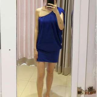 Electric Blue Chic Dress