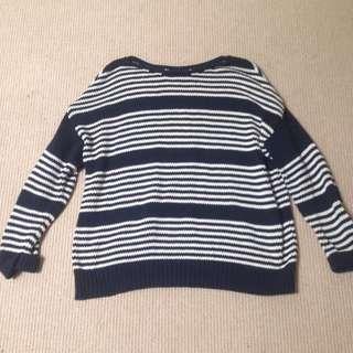 Top Shop -Stripe Knitted Jumper
